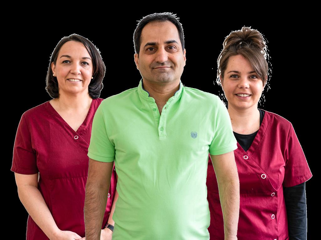 Équipe orthodontiste Nanterre Dr Faramarz